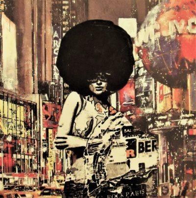 Les seventies revisité par Pep's en peinture