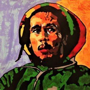 Le grand Bob par l'artiste Pep's, tout en couleurs
